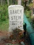 Bärenstein - pomníček posledního šumavského medvěda