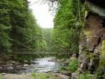 Pašerácká lávka přes Divokou Orlici v přírodní rezervaci Zemská brána - (c) Lucie Černohousová