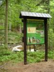 informační panel naučné stezky přírodní rezervací Zemská brána - (c) Lucie Černohousová